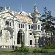 Villa im Waldkomplex