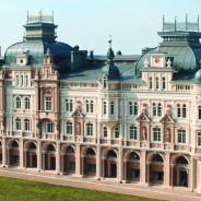Der Wohnhauskomplex in der Kassatkin-Straße