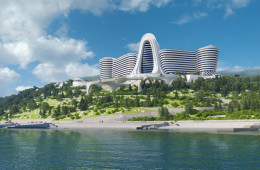 Hotel complex project