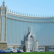 The hotel complex on Lech and Maria Kachinsky st., Batumi, Georgia