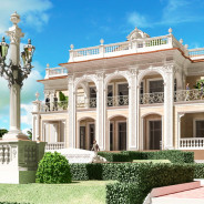 Villa Palladian in Palm Beach (Miami) Option 1