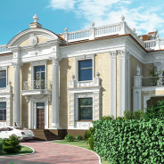 Villa Palladian in Palm Beach (Miami) Option 2