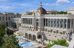 Reconstruction of the health resort Zhemchuzhina