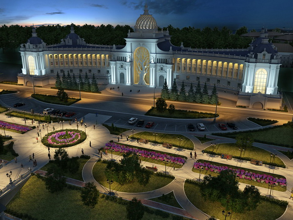 Improvement of the Palace of Farmers park