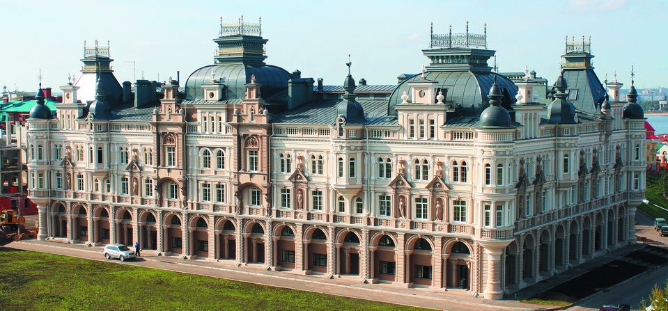 Luxurious residential estate on Kastkina street